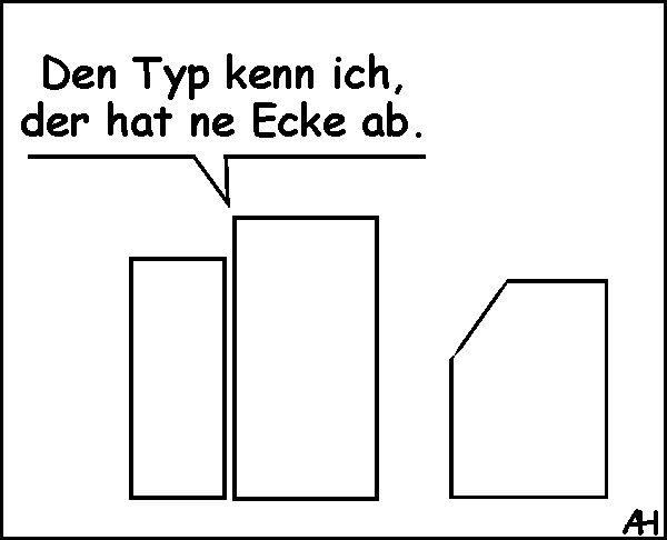 Ecke ab